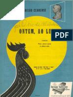 Alcantara, José Pedro de e Cearense, Catullo da Paixão - Ontem, ao luar (Choro e Poesia).pdf