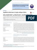 Equilibrio ácido-base - el mejor enfoque clínico 2015