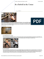 29 Things to do with a Barbell in the Corner | Straight to the Bar