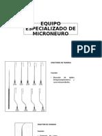EQUIPO ESPECIALIZADO DE MICRONEURO