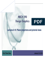 lectures 8-10 - planar projections and pictorial views