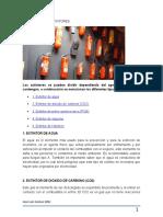 USO Y TIPOS DE EXTINTORES