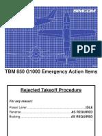 Memory Items TBM 850 G1000.PDF