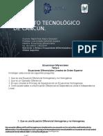 Instituto Tecnológico de Cancún Tarea 2- Tema 2