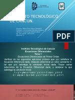 Instituto Tecnológico de Cancún Tarea 2