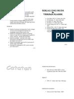 Buku Program Motivasi Upsr 2009