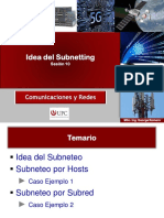 UPC ComRedes Sesion10 Subnetting(1)