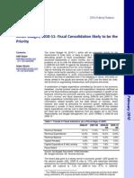 2010 February Union Budget