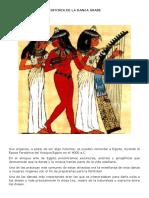 HISTORIA DE LA DANZA ÁRABE