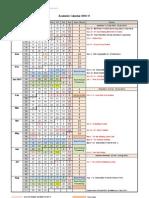 Academic Calendar 2010-11
