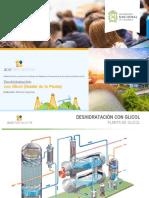 3.2 Deshidratación con glicol - Detalle de la Planta
