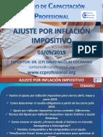 Ajuste Por Inflacion Impositivo 03.09.2019 c