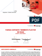 Cálculo Estructural_ Fuerza cortante y Momento flector
