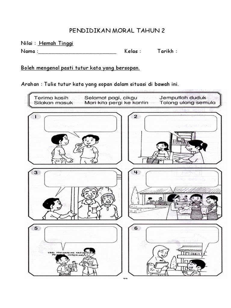 Pendidikan Moral Tahun 2
