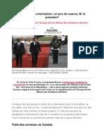 27- Macron et la colonisation