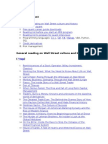 Master Reading List for Quants, MFE Students