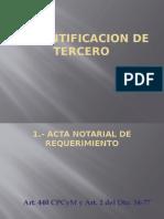 IDENTIFICACION DE TERCERO