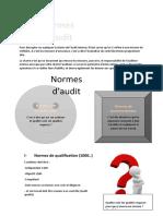 Normes d'audit interne