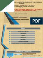 Educación Física e inclusión.Perspectiva y actitud de los maestros (de EF) de la provincia de Segovia