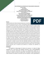 TESTE DE FATIGUE ESTENDIDO DA ESTRUTURA DE FUSELAGEM DE AERONAVES DE ALTO USO