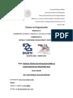 TAREA3. ManualTecnicoConfiguraciondeServidoresWAN-.pdf