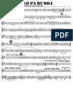 SCORE PALO PA RUMBA - Baritone Sax