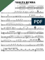 SCORE PALO PA RUMBA - Trombone 2