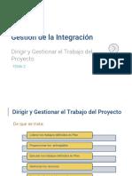 gestión de integración-PROYECTOS