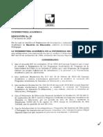 RESOLUCION 085 DE 2020 (Modificación-Rreglamento Inscripción y Admisión ME)