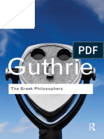 The Greek Philosophers from Thales to Aristotle.epub