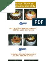 11 DECORACION DE TORTAS EN CREMA CHANTILLY