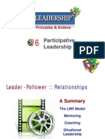 L06s Participative Leadership MBA