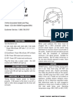 Xmas Light Timer Manual