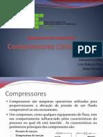 Compressores Centrífugos