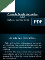 Curso de Magia Hermética aula 3