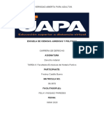 TAREA 6 facultades Exclusivas del Notario Publico