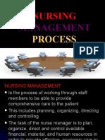 NURSING Management Process