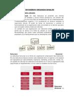 TIPOS DE DISEÑOS ORGANIZACIONALES