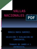 Vallas nacionales s