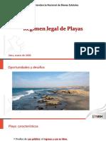 Régimen Legal de Playas