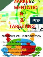 Market Segmentation & Targeting