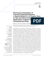Performance Regulation of Thieno32-Bbenzothiophene