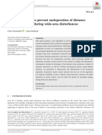 A new algorithm to prevent maloperation of distance protection zone 3 during wide are disturbances