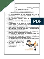 RECOMENDACIONES _1ro Secundaria