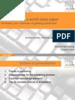 Elsevier Workshop
