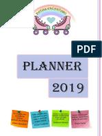 PLANNER 2019 Patins Encantado