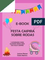 e-book festa caipira