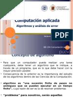 clase 5 Algoritmos- Análisis de datos Error y aproximación