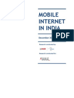 Mobile Internet in India 2009