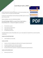 Manejo de datos con Microsoft Visual FoxPro y MSDE.doc